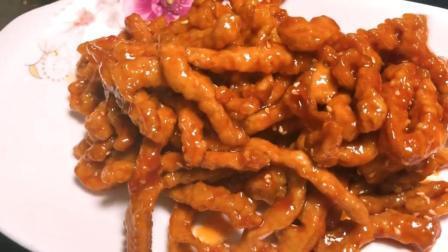 湖南厨娘教你里脊肉的做法, 肉质鲜嫩爽口, 一大盘都不够吃!