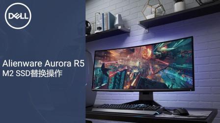 Alienware Aurora R5-M2 SSD替换操作