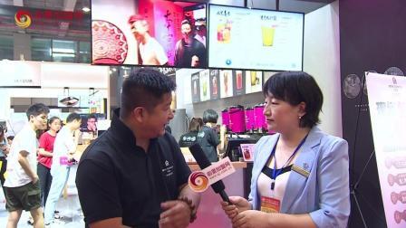 本宫的茶创始人徐先生接受前景加盟网采访