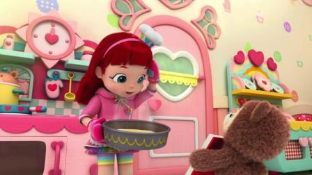 《彩虹宝宝》哈哈, 月亮糕变成了大饼, 彩虹宝宝你可真逗!