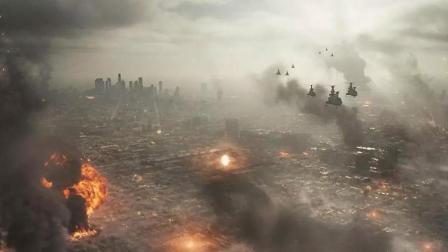 强大的外星军团, 企图铲除人类接管地球的资源, 科幻大片《洛杉矶之战》
