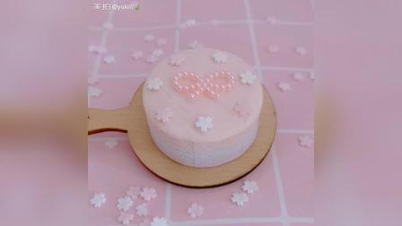 少女心蝴蝶结黏土蛋糕分享