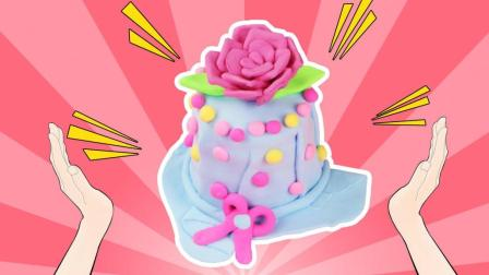 彩虹夹心蛋糕手工黏土教学, 你会做吗?
