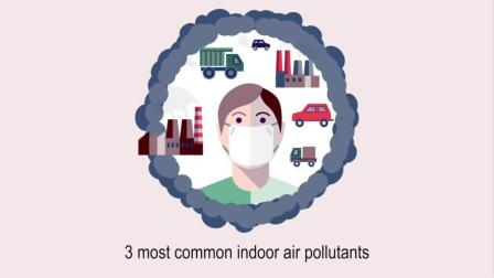 您知道最常见的3种室内空气污染物吗? 康斐尔为您来解答
