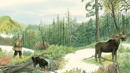 绘本奥斯卡 老猎人与驼鹿的传奇故事: 鄂温克的驼鹿