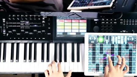 用iPad和钢琴演奏《天之痕》