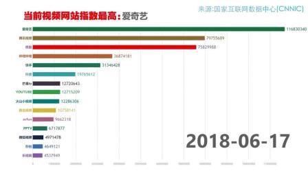 ★中国第一视频网站竟然是...★看了你就知道2013-2018全数据报表-呆瓜Domado