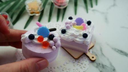 超轻黏土蛋糕教程, 闺蜜说比买的还好看, 你们觉得呢