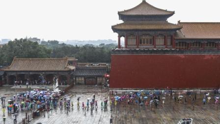 北京暴雨, 故宫现九龙吐水奇景, 古代排水系统有多牛?