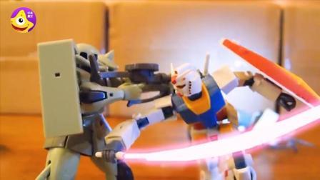 初代高达模型动画 吉翁VS联邦一年战争