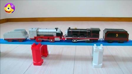 儿童动脑托马斯小玩具 自己动手DIY一辆大力士电动小火车