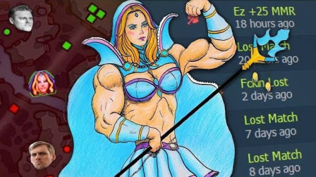 Crystal Maiden, from Broken to Bully