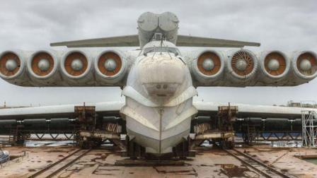 起飞重量495吨, 长达106米, 世界上只有两艘!