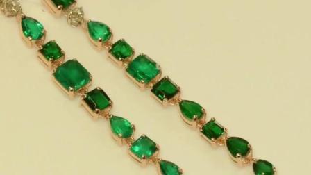 橄榄石是什么? 这种品级的宝石连钻石也要给她作陪衬