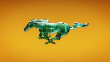 2018福特野马汽车的logo设计广告展现好燃!