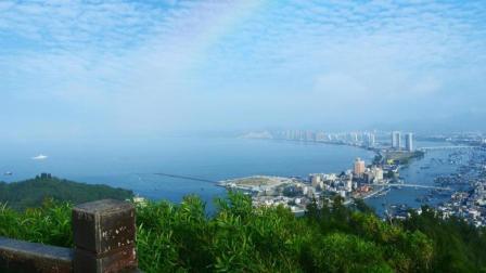 惠州双月湾不同天气风景, 小兮深圳惠州旅行视频之双月湾