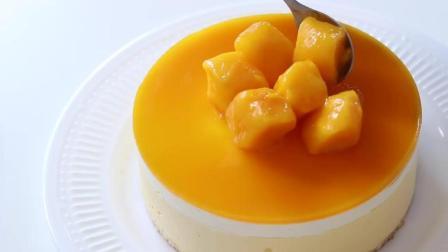 好吃到颤抖的芒果芝士蛋糕制作