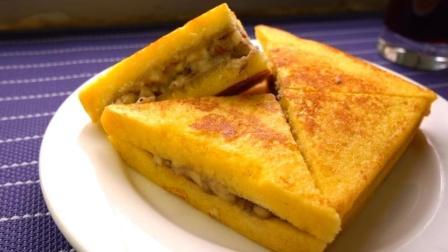 教你用一根香蕉, 两片吐司面包, 做一顿低油无糖的营养早餐
