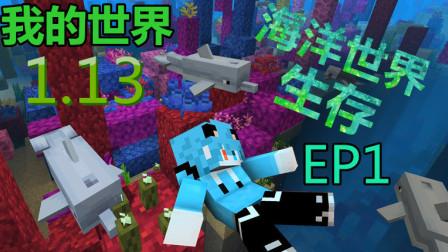 【大黑豆】我的世界1.13「海洋世界生存」