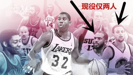 美媒评NBA历史十大控位, 库里高居第二, 保罗排名让人心疼