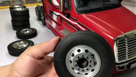 把这款RC卡车升级到铝制车轮