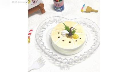 清新柠檬手工粘土蛋糕