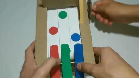 创意纸板DIY 教你制作简易劲乐团游戏机的方法