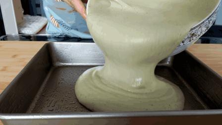 7个鸡蛋1碗面, 二美教您做抹茶蛋糕, 松软细腻味香浓, 味道超级棒