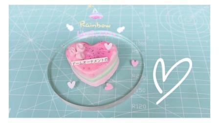 情人节: 做个蛋糕都是爱你的形状——蜜桃爱心薄荷慕斯蛋糕
