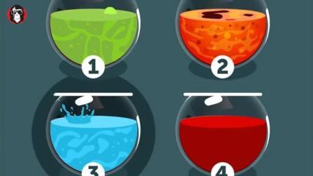 3道智力测试题: 四个罐子中, 有一个能让你活命, 你会选哪一个?