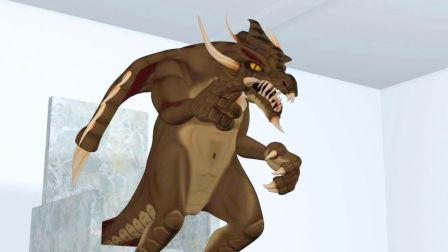 科幻网剧《恐龙和外星人》第9集:至尊之怒