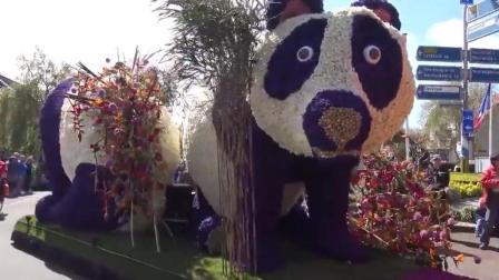 熊猫在荷兰果然是总统级待遇, 传说中的熊猫游行, 了解一下!