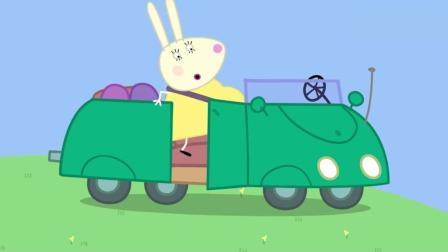 小猪佩奇和朋友们商量着给兔妈妈的小宝宝取了个新名字