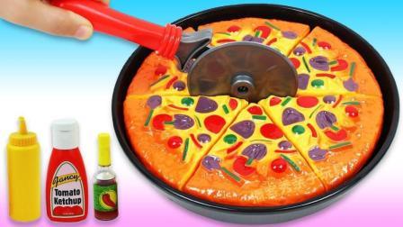 培乐多彩泥魔力变身比萨饼? 创意DIY新玩法, 视频教程送给你!