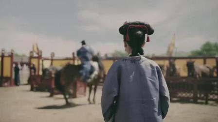 魏璎珞学骑马意外坠马, 皇上英雄救美, 幕后黑手是纯贵妃
