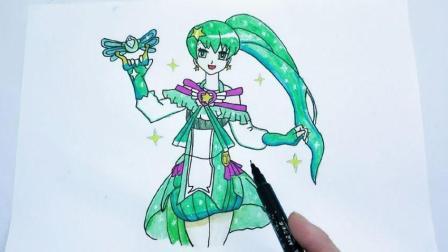 儿童简笔画教程视频之人物篇, 奇迹舞步的贝贝简笔画, 简单又漂亮