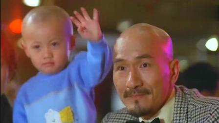香港电影喝酒整光头佬最后小光头来帮忙
