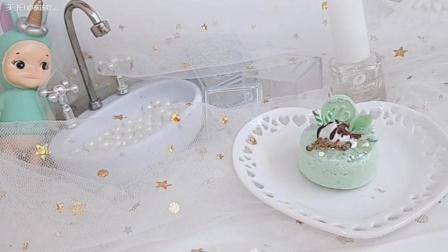 绿色清新小蛋糕分享