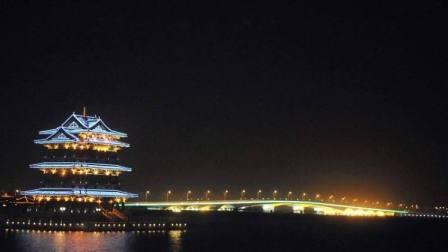 宜兴市 部分夜景 2018年8月6日宜兴万达广场至瀛园住宿地