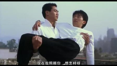 钟镇涛为练成钛合金神眼, 主动让周星驰插他眼睛!