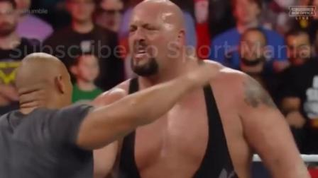 WWE皇家大战 表哥强森惊喜回归 解救表弟罗曼
