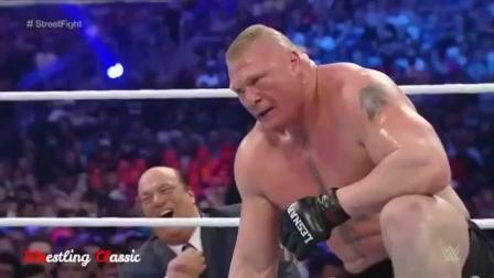 WWE 疯子迪安VS大布 罗曼做出这种事?