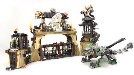 【月光砖厂】乐高LEGO70655幻影忍者系列龙巢穴评测