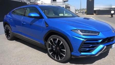 土豪新买的兰博基尼urus到货了, 号称是目前世界上最快的SUV