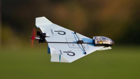 能遥控纸飞机的小工具, 空中随意转向, 完爆无人机!