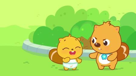 《小河狸贝瓦》动画精彩花絮: 贝瓦眉头一紧发现事情并不简单
