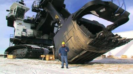 这么强悍的挖掘机, 才是挖机中的巨无霸机械!