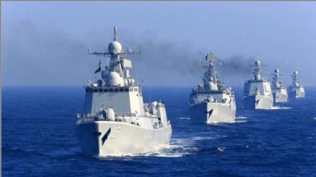 解放军大批战舰穿越日本海域, 日军多架战机紧急起飞跟踪监控