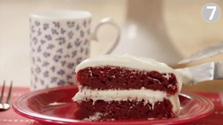 无筋红天鹅绒蛋糕, 口感松软, 香糯可口