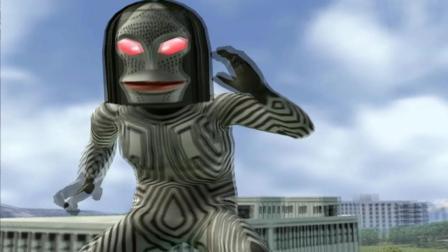 奥特曼格斗进化3游戏 怪兽达达VS马格马星人